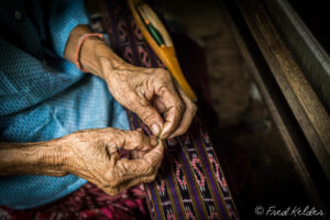Tissage en Thaïlande