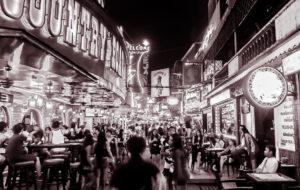 Quartier chaud de Bangkok